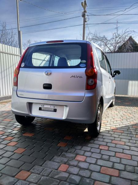 Daihatsu Mira 2013 серый задний бампер