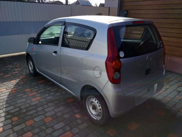 Daihatsu Mira 2013 серый зад