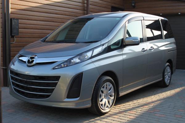 Mazda Biante 2014 серый