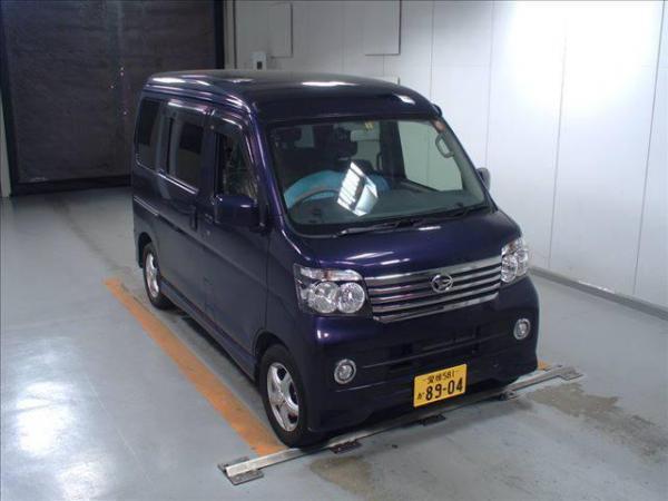 Daihatsu Atrai 2015 синий