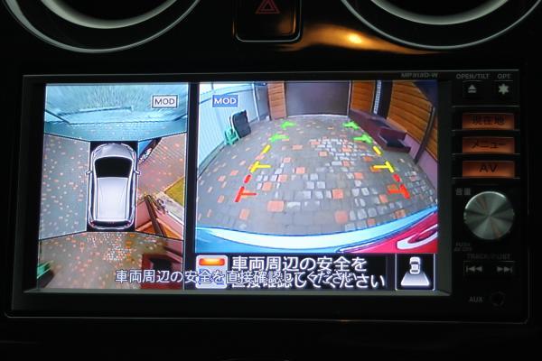 Nissan Note 2014 экран