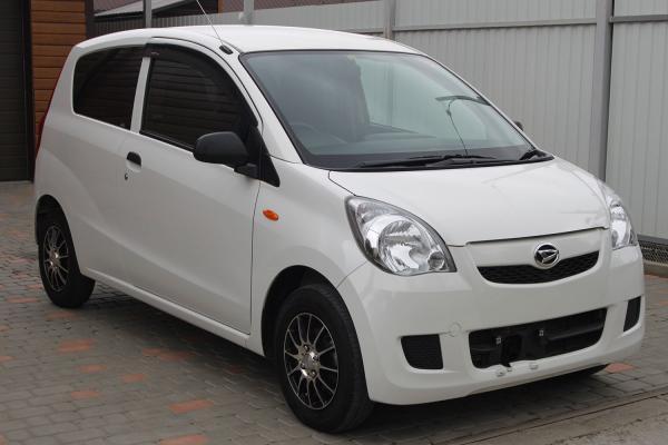 Daihatsu Mira 2014 белый перед