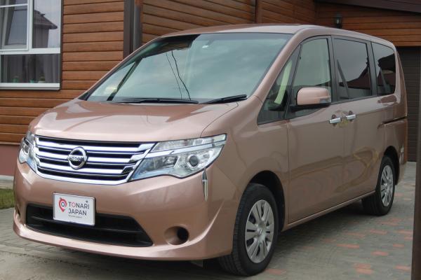 Nissan Serena 2016 коричневый спереди