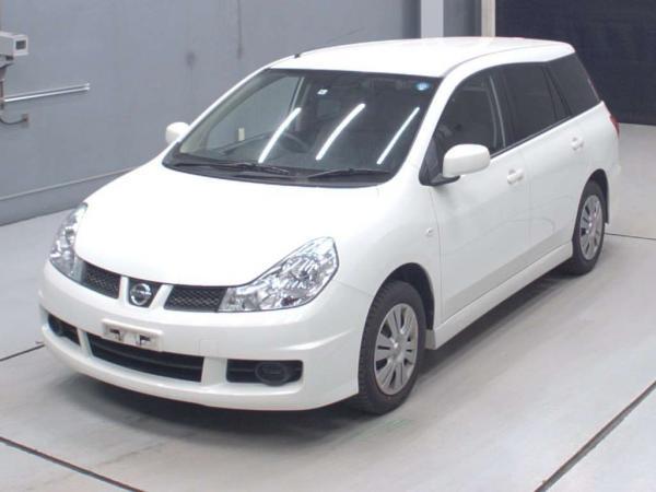 Nissan Wingroad 2016 белый спереди