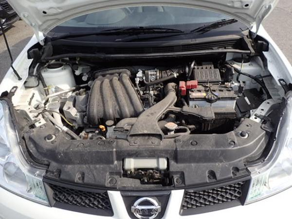 Nissan Wingroad 2016 белый двигатель