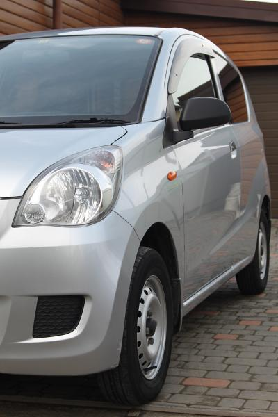 Daihatsu Mira 2014 серый передняя фара