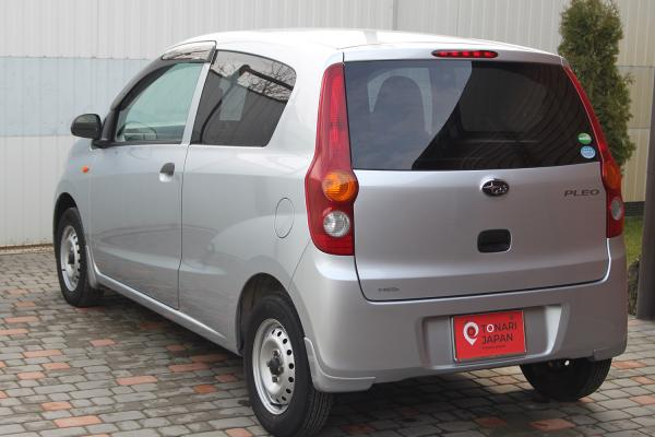 Daihatsu Mira 2014 серый сзади