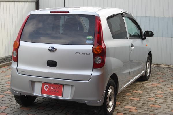 Daihatsu Mira серый сзади