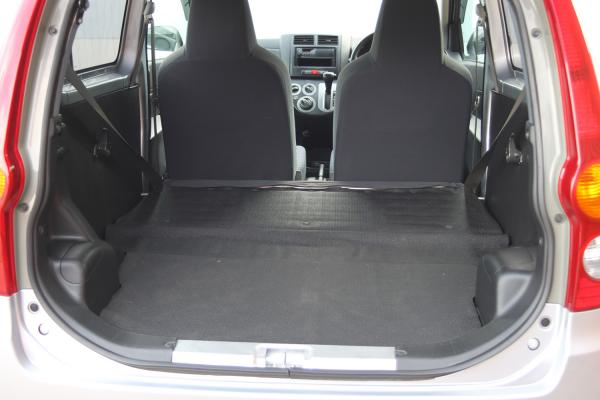 Daihatsu Mira 2014 серый багажник