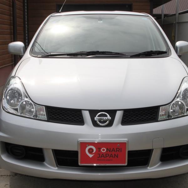 Nissan Wingroad 2016 серый спереди