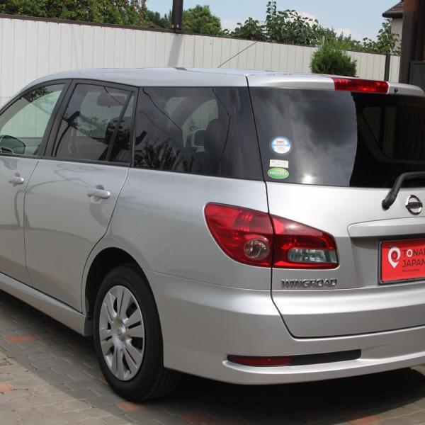 Nissan Wingroad 2016 серый зад