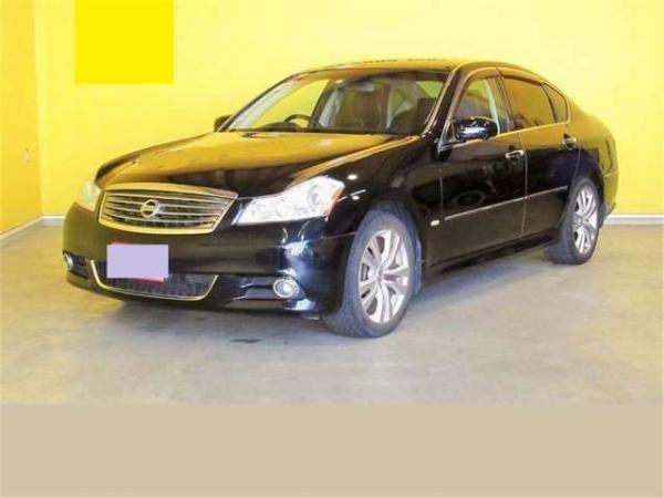 Nissan Fuga 2004 чёрный