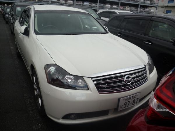 Nissan Fuga 2004 белый