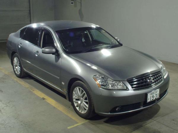 Nissan Fuga 2004 серый