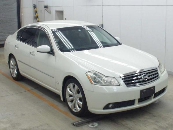 Nissan Fuga 2006 белый
