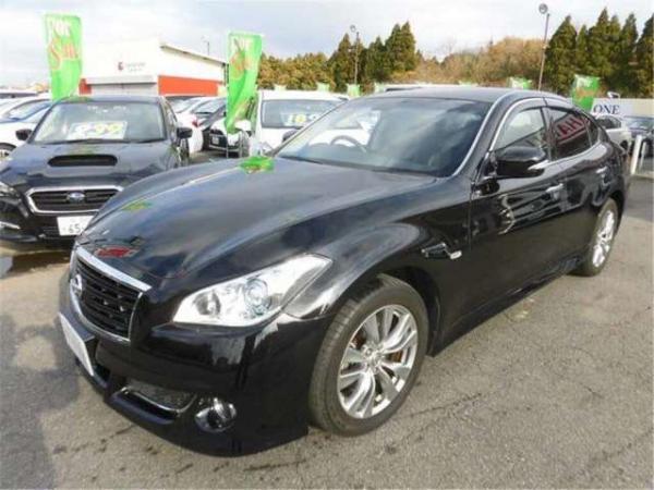 Nissan Fuga чёрный