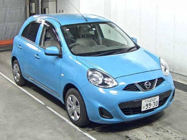 Nissan March 2015 синий