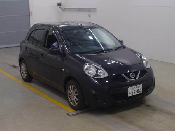 Nissan March 2015 чёрный