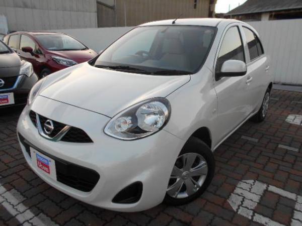 Nissan March 2015 белый