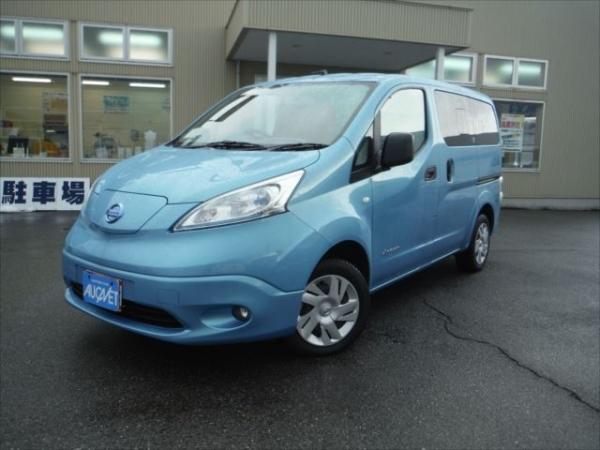 Nissan E-NV200 2015 голубой