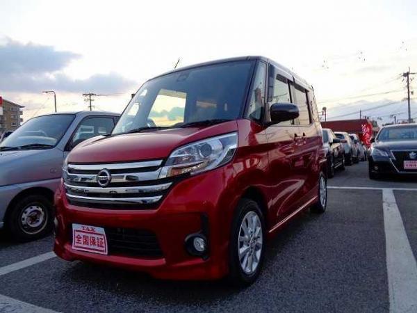 Nissan Dayz Roox 2015 красный