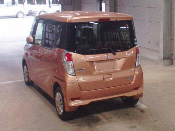 Nissan Dayz Roox коричневый сзади