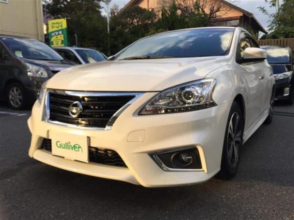 Nissan Bluebird Sylphy 2015 белый