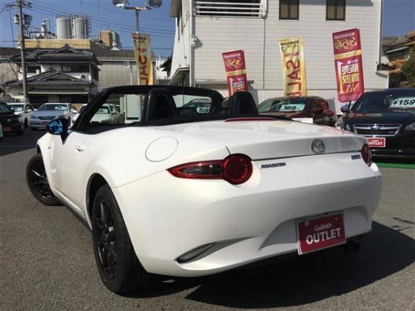 Mazda Roadster 2015 белый
