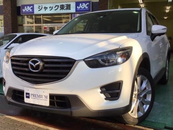 Mazda CX-5 XD 2015 белый