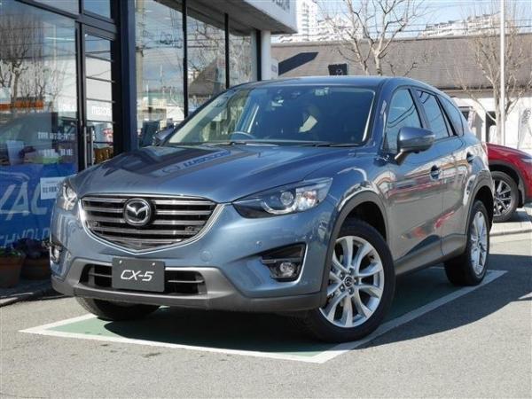 Mazda CX-5 XD 2015 серый
