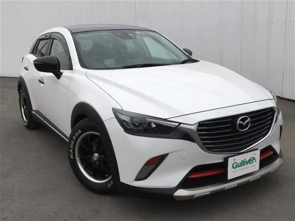 Mazda CX-3 2015 белый