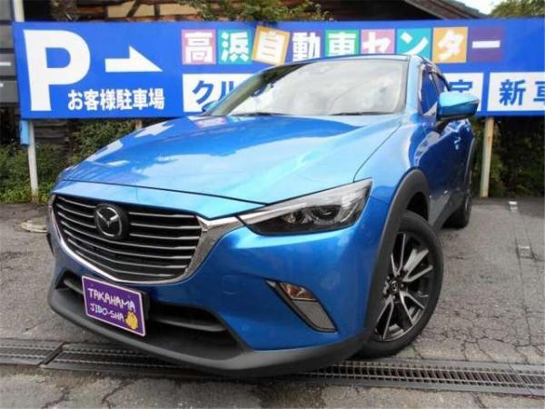 Mazda CX-3 2015 синяя