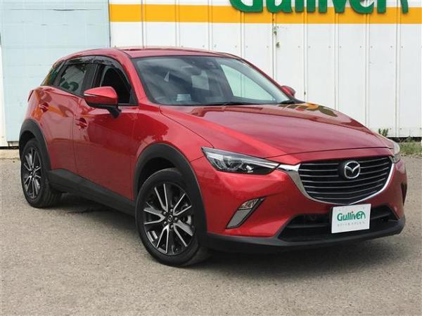 Mazda CX-3 2015 красная спереди