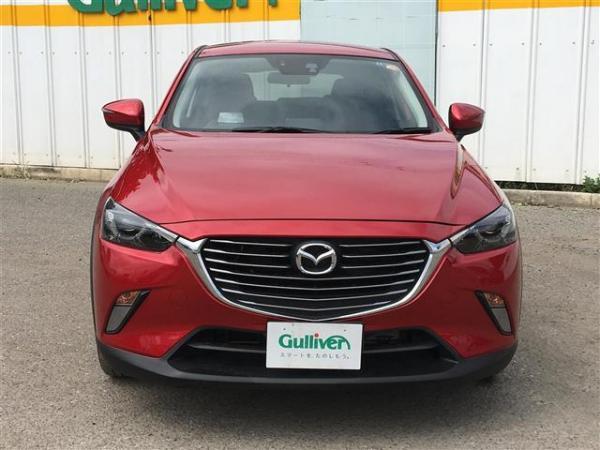 Mazda CX-3 2015 красная