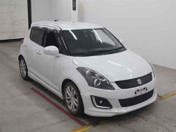 Suzuki Swift 2015 белый