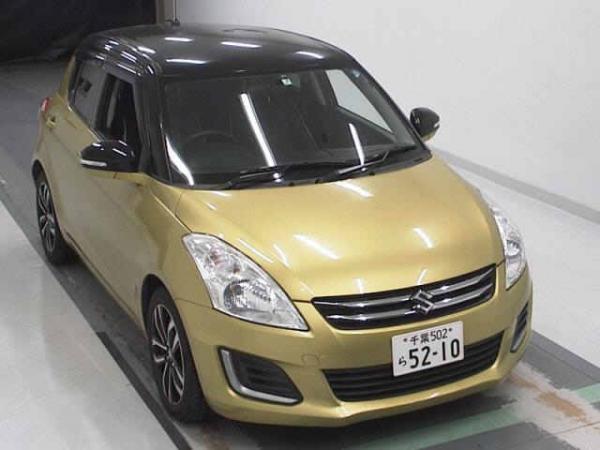 Suzuki Swift 2015 золотистый