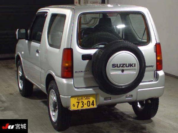 Suzuki Jimny 2015 серый сзади