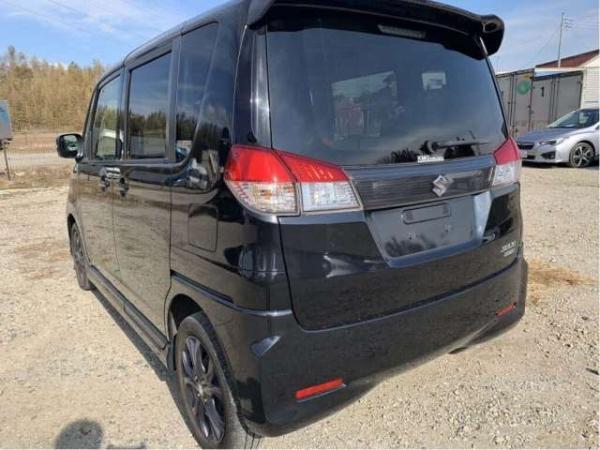 Suzuki Solio Bandit 2015 чёрный сзади