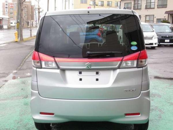 Suzuki Solio Bandit 2015 серый сзади