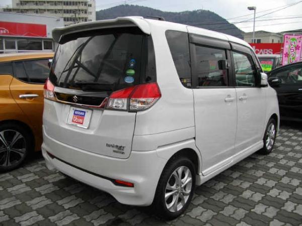 Suzuki Solio Bandit белый сзади