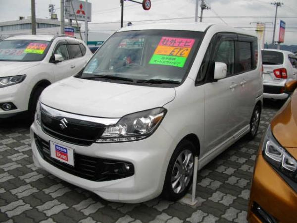 Suzuki Solio Bandit 2015 белый