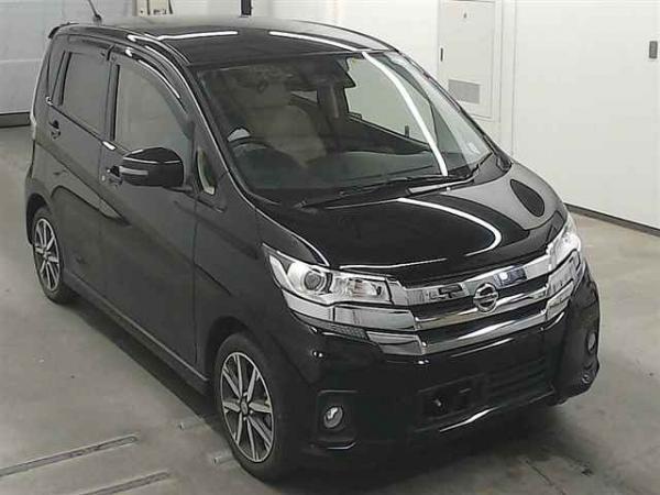 Nissan Dayz 2016 чёрный