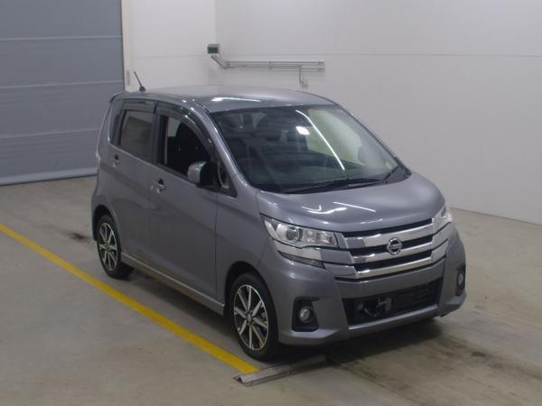 Nissan Dayz 2016 серый