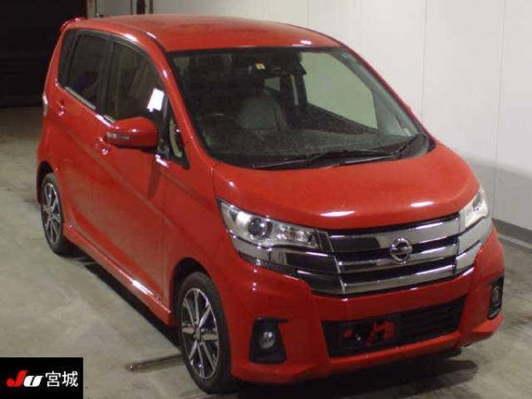 Nissan Dayz 2016 красный