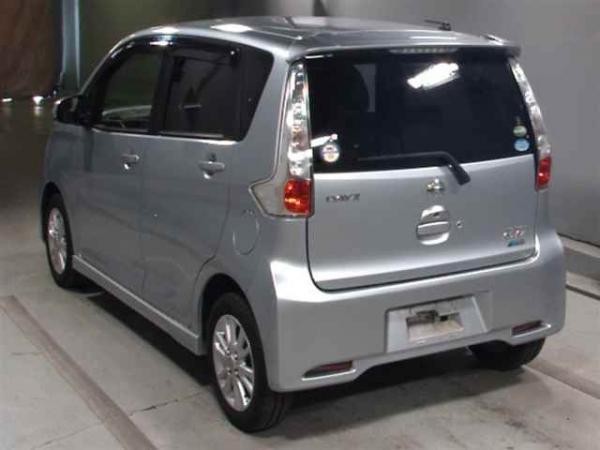 Nissan Dayz 2016 серый сзади