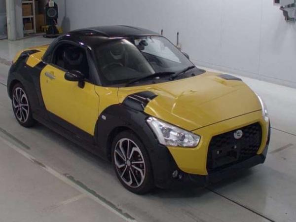 Daihatsu Copen 2015 жёлтый