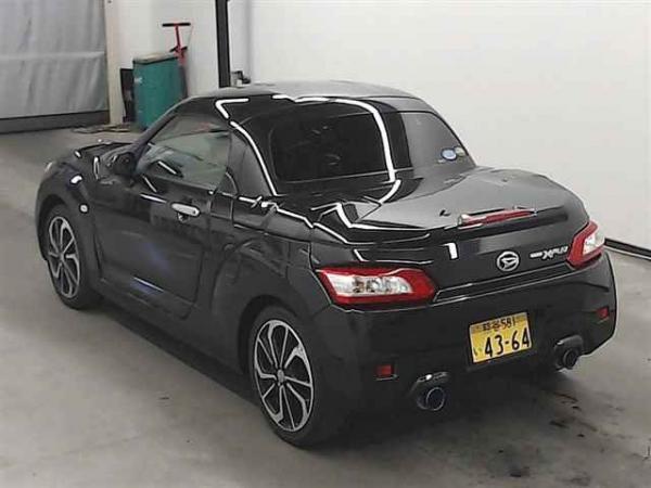Daihatsu Copen 2015 чёрный сзади