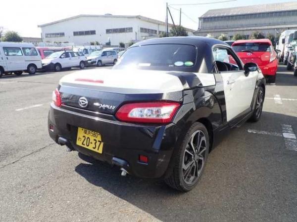 Daihatsu Copen 2015 белый сзади