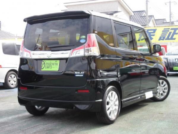 Suzuki Solio III чёрный сзади