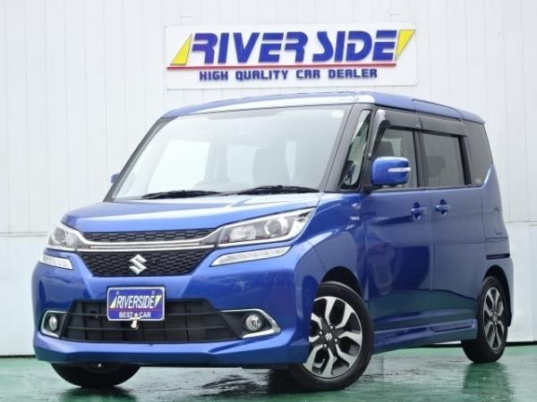 Suzuki Solio III синий спереди